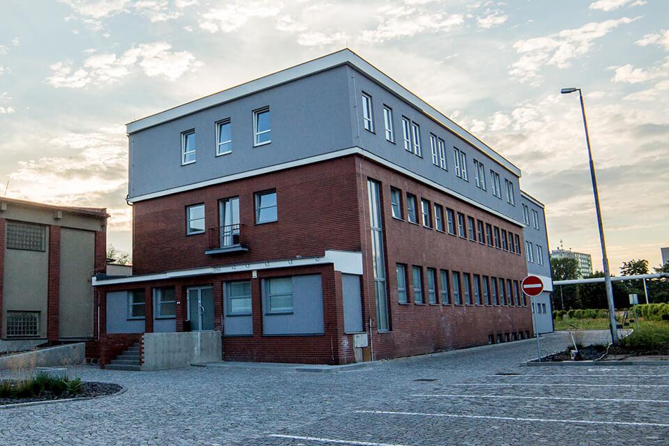 Budova zubní ordinace Myprodent Pardubice